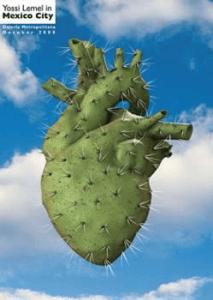 למל יוסי, כרזה לתערוכת כרזות במקסיקו