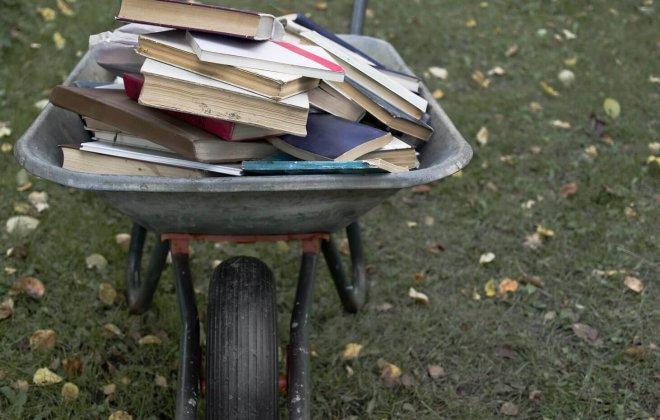 מריצה מלאה ספרים